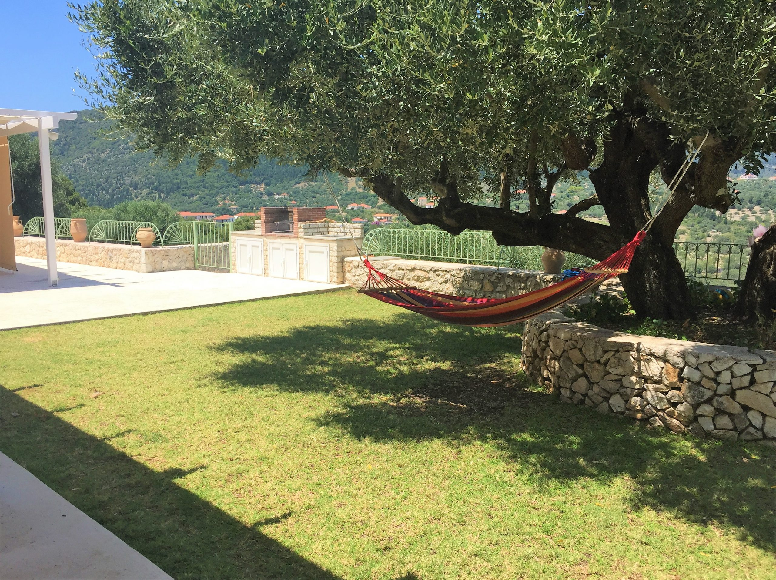 Garden of Kouvarata for rent MV Properties Ithaca Greece