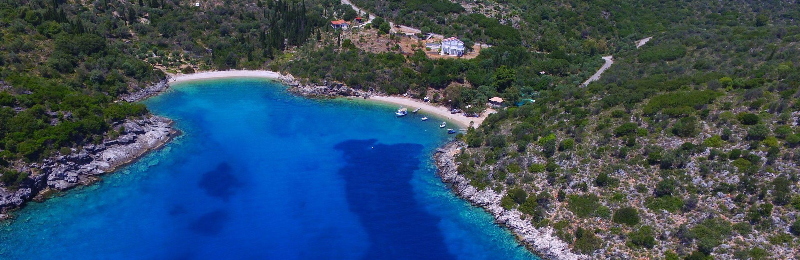 MV Properties, Ithaca Greece real estate, Sarakiniko bay