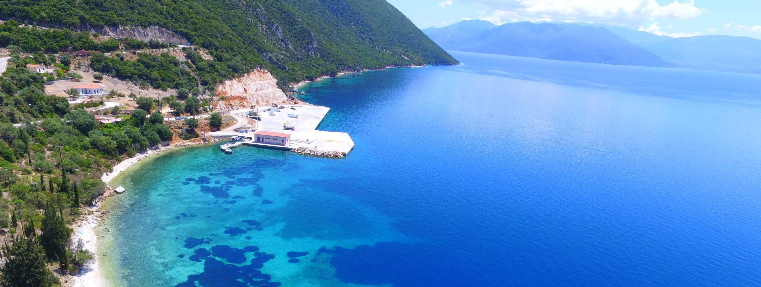 MV Properties, Ithaca Greece real estate, Piso Aetos port