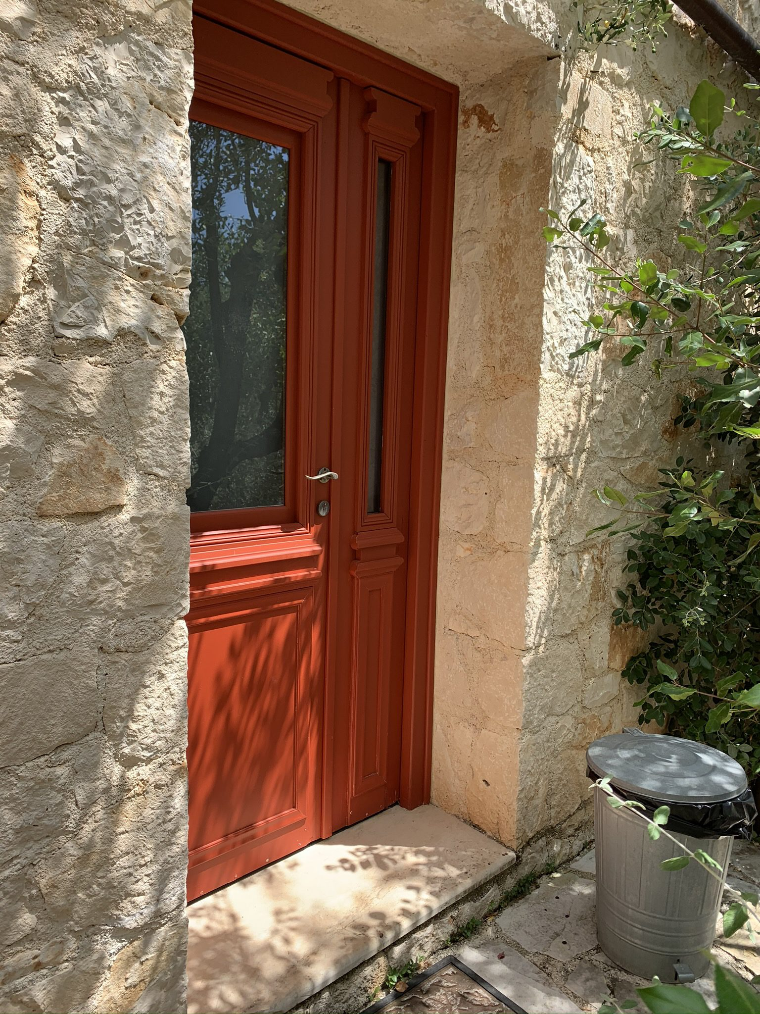 Front entrance of property for sale in Ithaca Greece Vathi