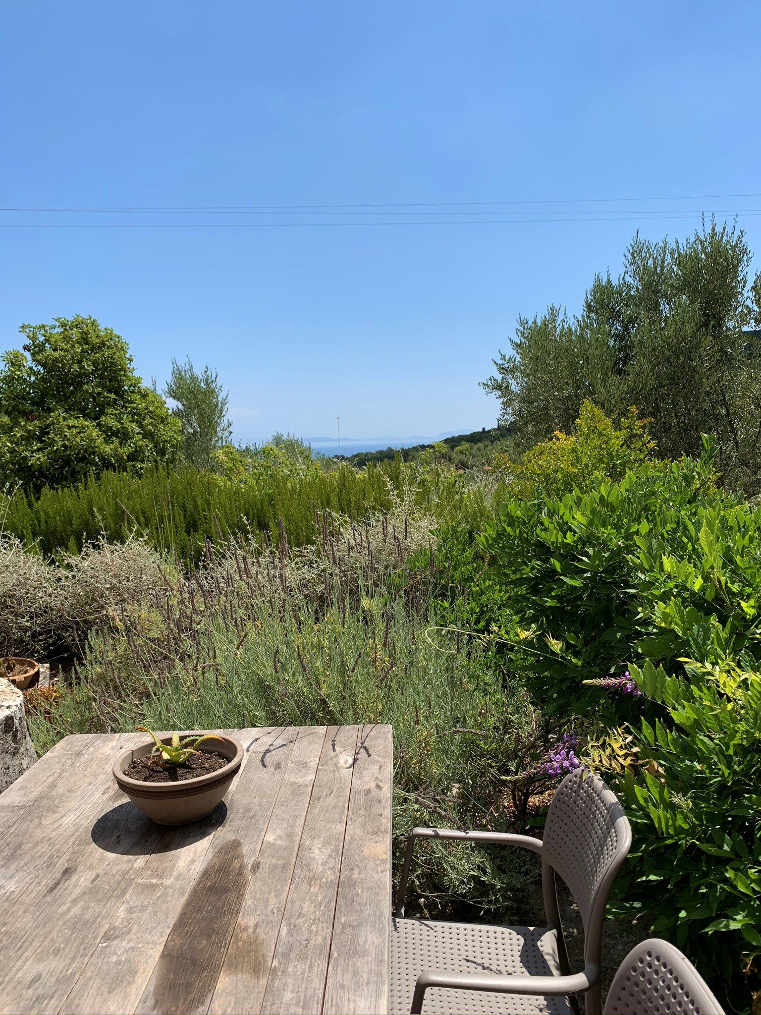 Landscape view of property for sale in Ithaca Greece Vathi