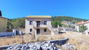 Exterior of house for sale Ithaca Greece, Anoghi